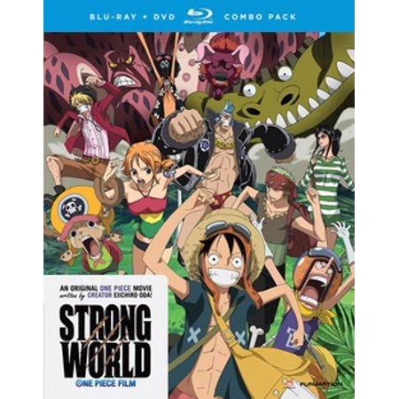 ONE PIECE STRONG WORLD (BLU-RAY/DVD COMBO/2 DISC) (Blu-ray) - Le Film Halloween