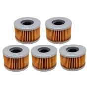 Factory Spec, FS-709, 5 Oil Filters Honda ATV Rancher 400, Rubicon 500, Rincon 650 & 680