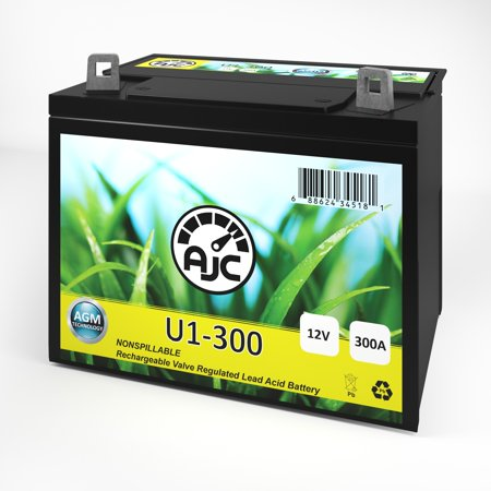 John Deere Z-Track F680 Zero-Turn Radius U1 Lawn Mower and Tractor Battery - This is an AJC Brand Replacement