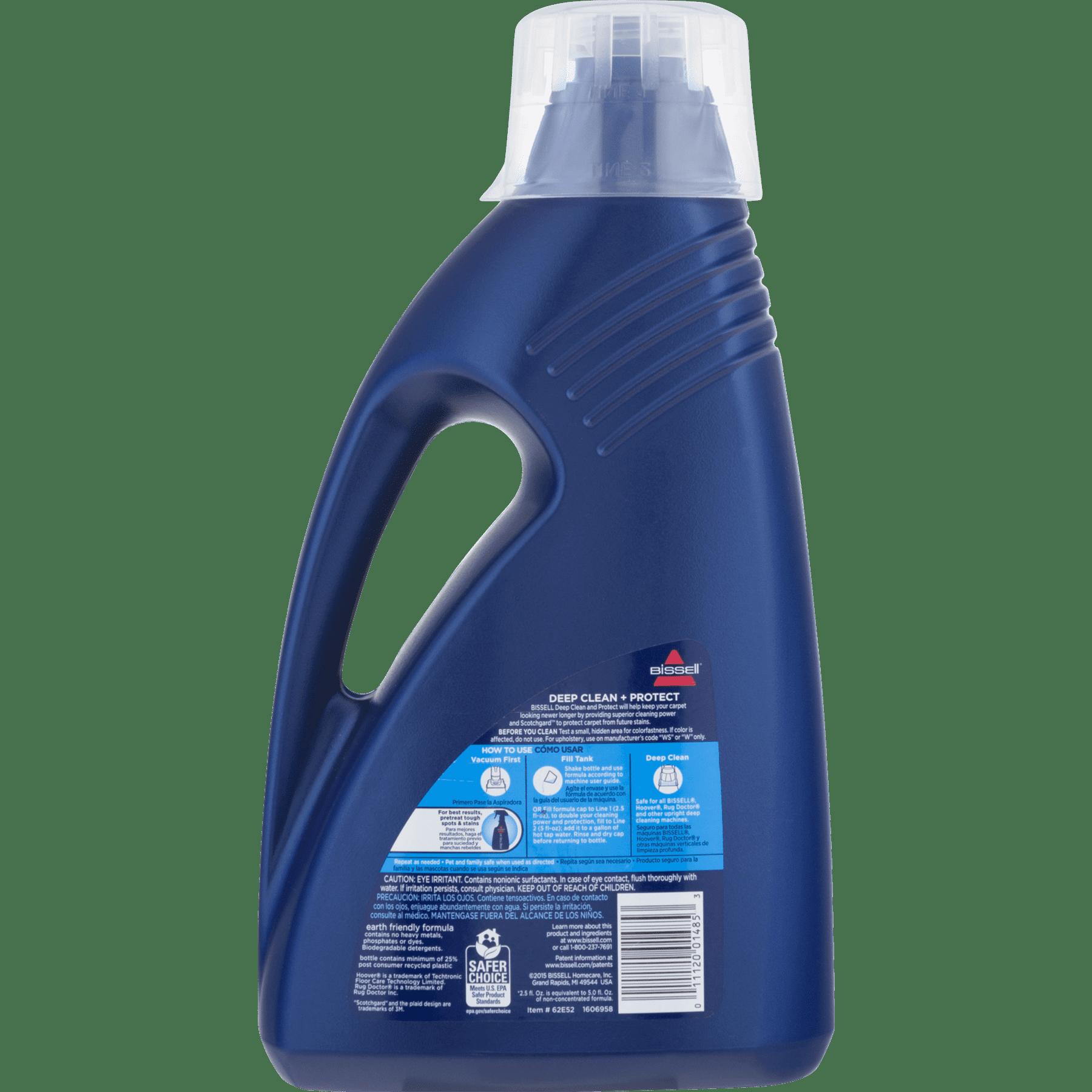Bissell Deep Clean Amp Protect Carpet Cleaner 60 0 Fl Oz