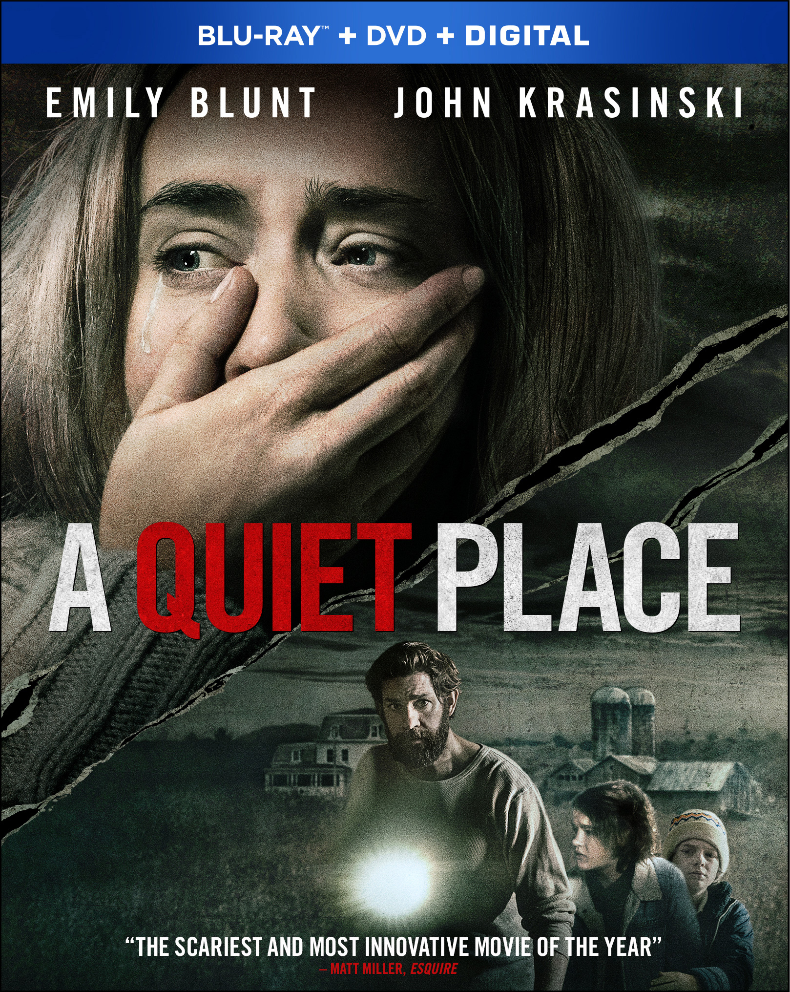 A Quiet Place (Blu-ray + DVD + Digital) by