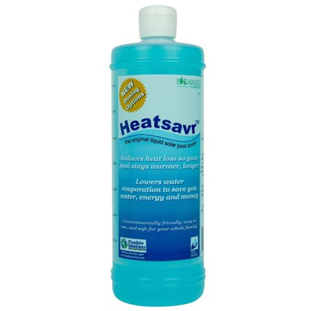 Heatsavr Liquid Solar Pool Cover - 1 Liter Bottle - 2