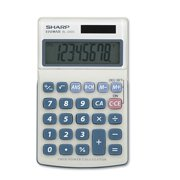 basic calculators com sharp el240sb handheld business calculator 8 digit lcd