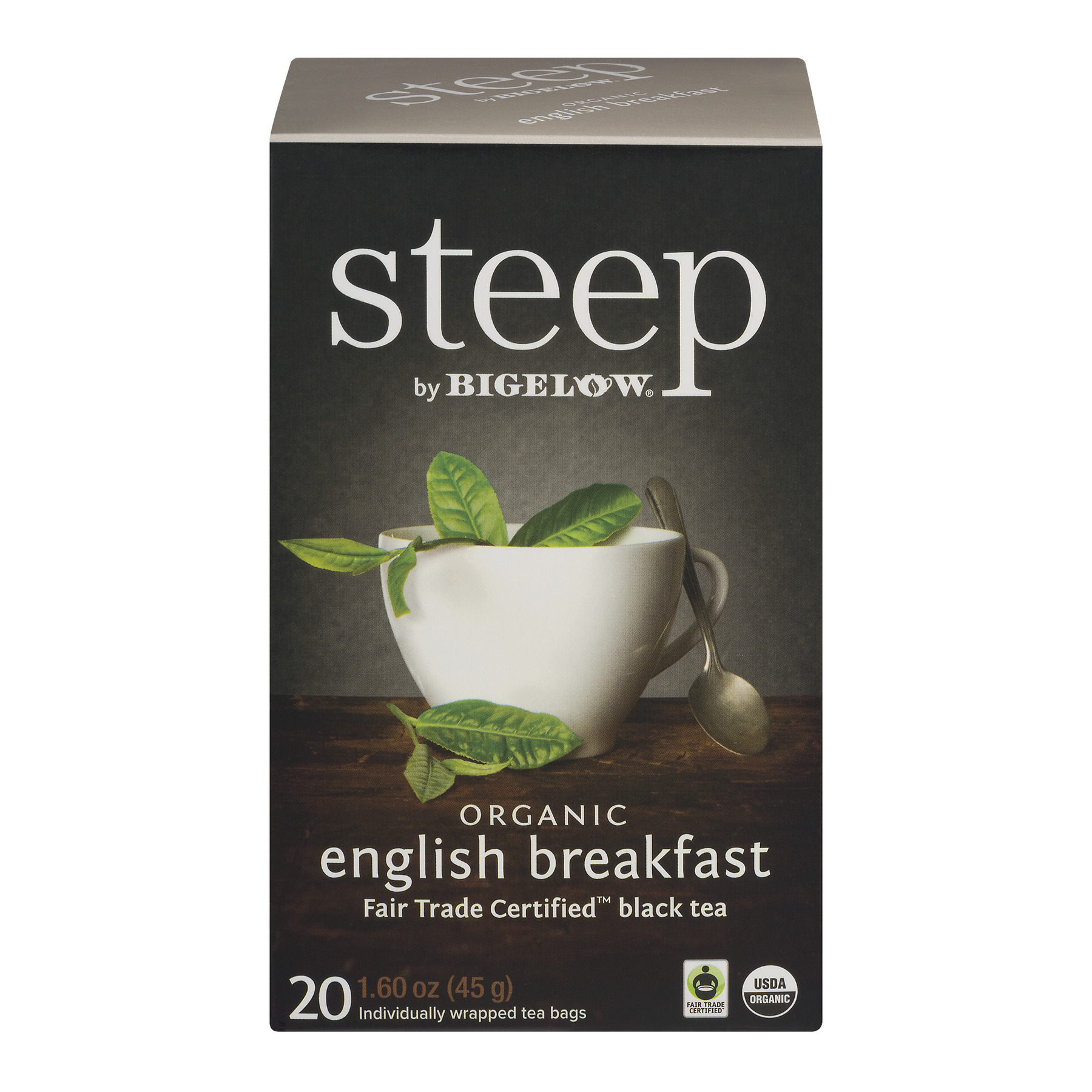 Steep by Bigelow Organic English Breakfast Tea - 20 CT20.0 CT