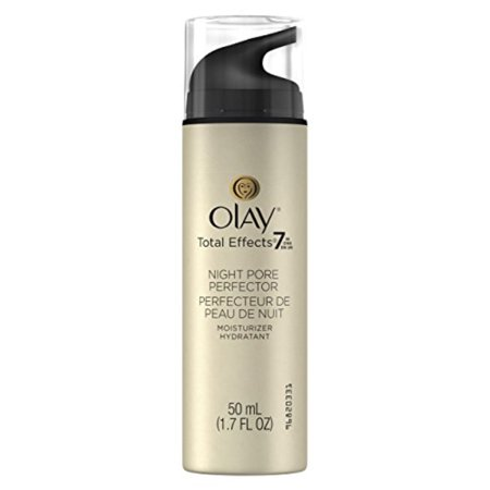 Olay Total Effects Night Pore Perfector Moisturizer, 1.7 Fluid Ounce