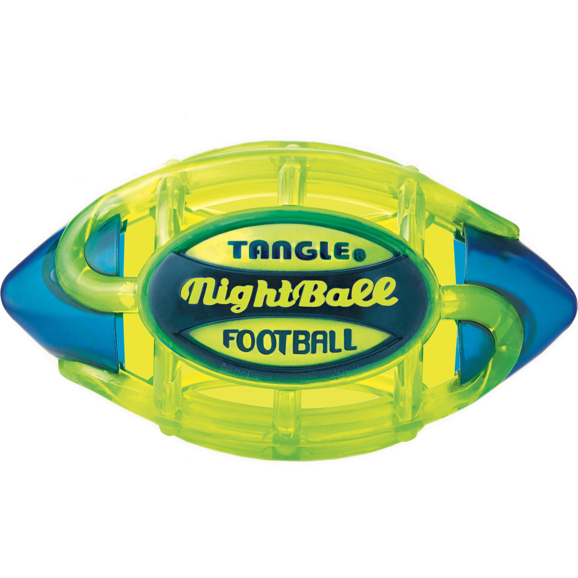 Tangle NightBall Football, Electric Green, Large by Tangle