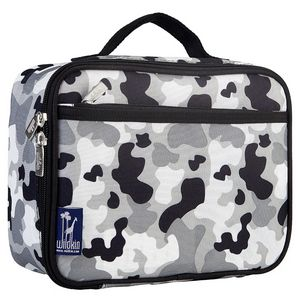 Gray Camo Lunch Box