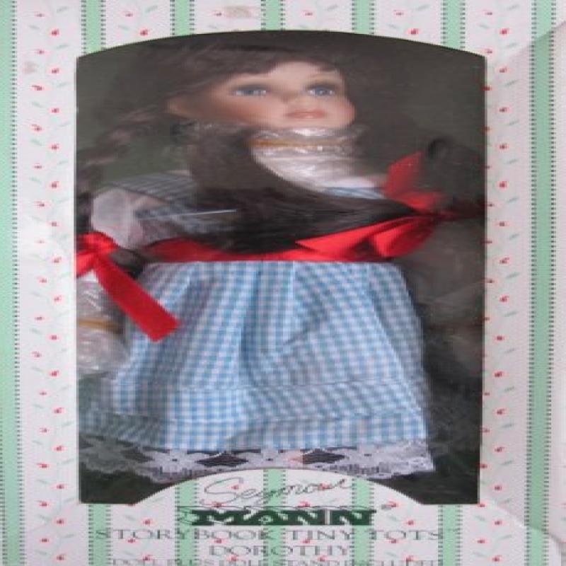 Seymour Mann Wizard of Oz DOROTHY Doll - Hand Painted Por...