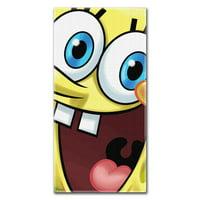 SpongeBob Big Smile 30x60 Fiber Reactive Cotton Beach Towel