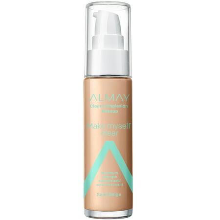 Almay Clear Complexion Makeup 600 Sand Beige - 1 fl oz