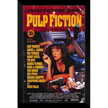 Pulp Fiction Framed 27X40 Movie Poster  John Travolta