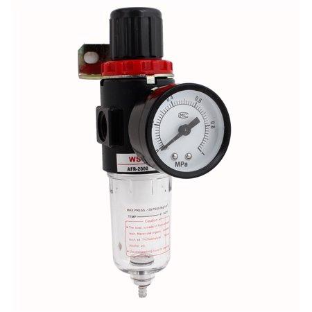 - Unique Bargains AFR2000 0.05-0.85Mpa Compressor Regulator Pneumatic Air Filter 1/4