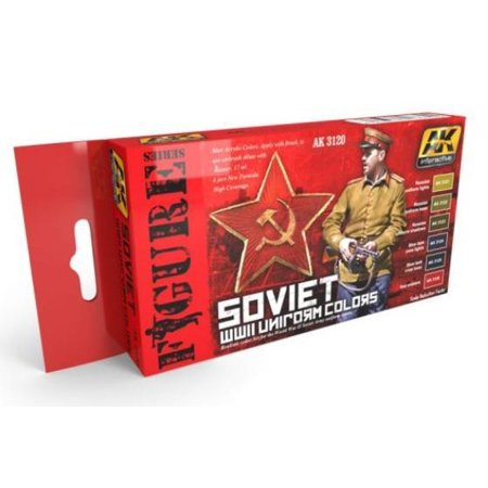 Wwii Uniform Set - Soviet WWII Uniform Colors Set New