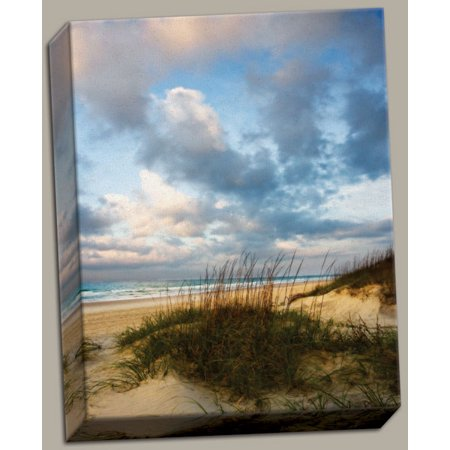 Canvas Cotton Candy Sunrise Inspirational Travel Vacation Quality Dune Path Beach Wall Art 11x14