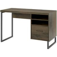 Ameriwood Home Candon Desk, Distressed Oak