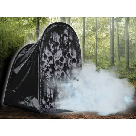 Skulls Tombstone Fog Machine Cover Halloween - Halloween Decorations Homemade Tombstones