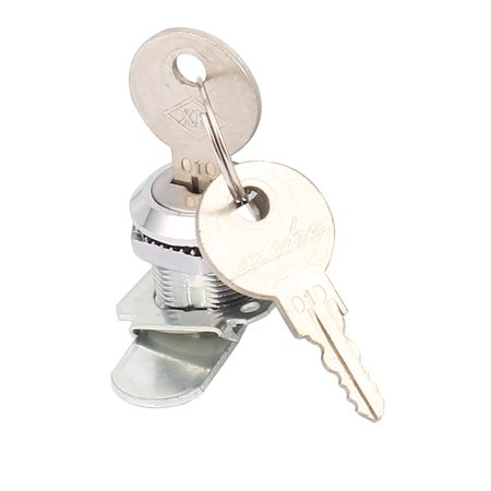 Cupboard Cabinet Mailbox Drawer Door Security Cam Chest Lock Camlock w 2 Keys - image 1 of 3