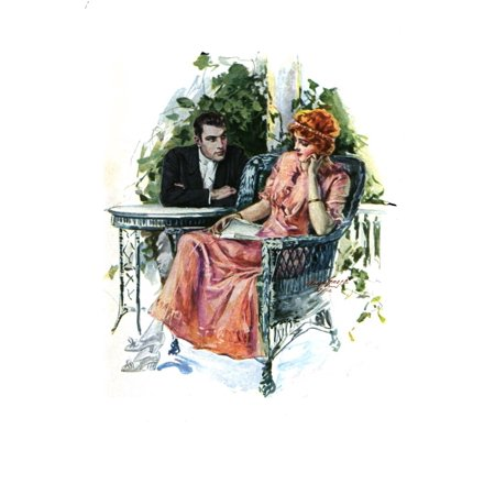 The Rented Earl 1912 Couple Poster Print By  Will Gref
