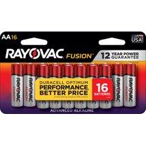 Batteries: Rayovac Fusion