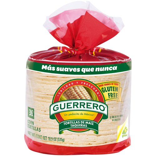 "Guerrero White Corn 4.5"" Tortillas, 36 ct"