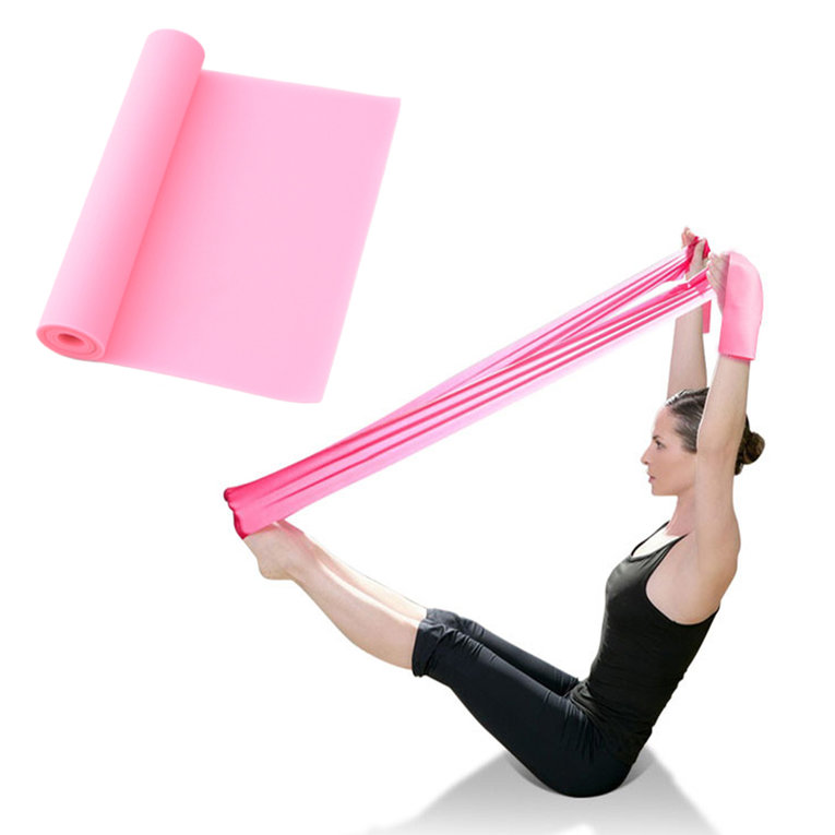 Fitness Equipment Elastic Exercise Resistance Bands Workout For Yoga