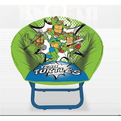 Idea Nuova Teenage Mutant Ninja Turtles Saucer Kids Chair