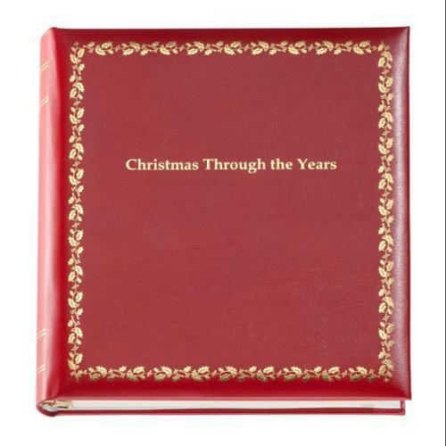 Christmas through the Years Photo Album