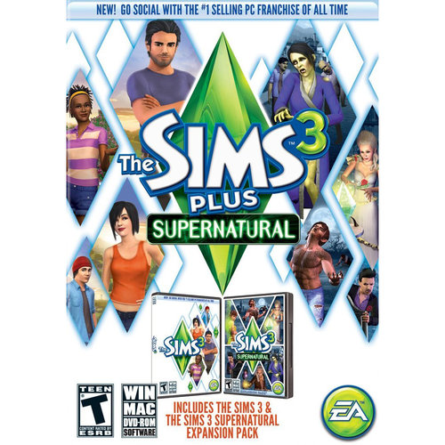 Sims 3 Plus Supernatural (PC/ Mac)