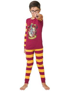 Harry Potter Big Kids Gryffindor House Crest' Costume Pajama Set