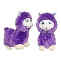 "#PlushPals 11"" Llama Alpaca Stuffed Animal Plush Toy Soft & Fluffy - Purple"