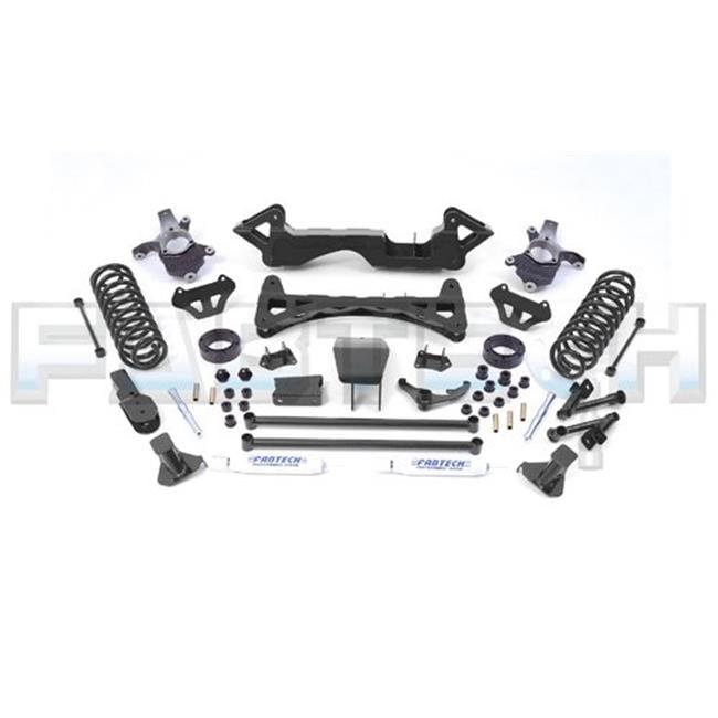 FABTECH FTS15994BK 6 inch Rear Box Kit