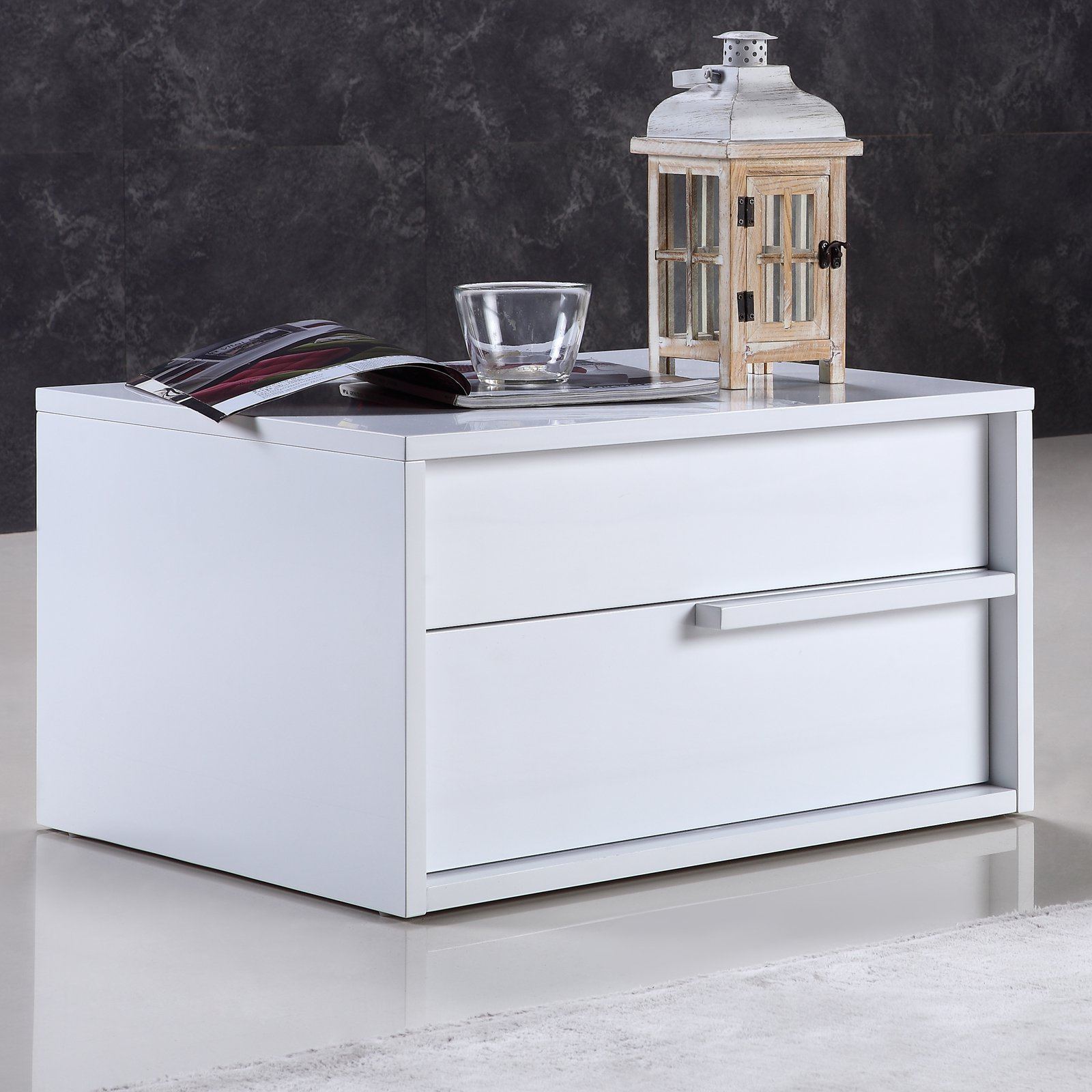 Casabianca Home Dolce 2 Drawer Nightstand
