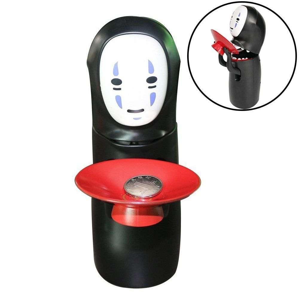 Kaonashi No Face Spirited Away Ghost Automated Piggy Bank With Sound Novelty by