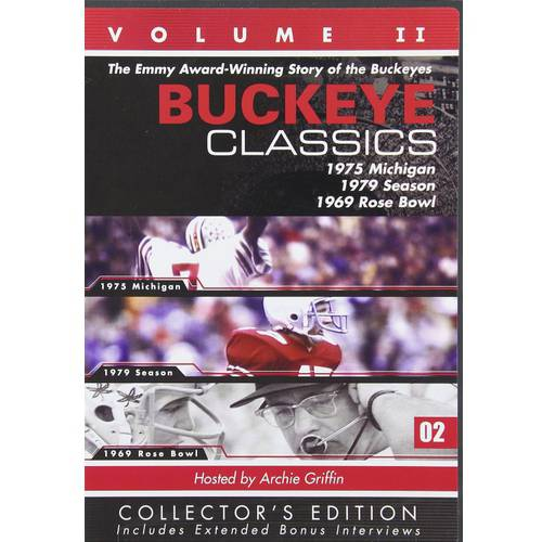 Buckeye Classics: Volume II - 1975 Michigan / 1979 Season / 1969 Rose Bowl (Collector's Edition)