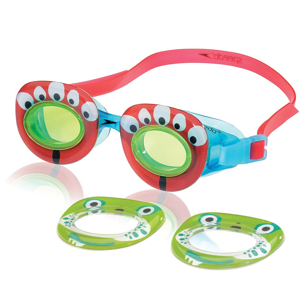 Speedo Kids' Neonwonders Swim Goggle, Orange by Speedo