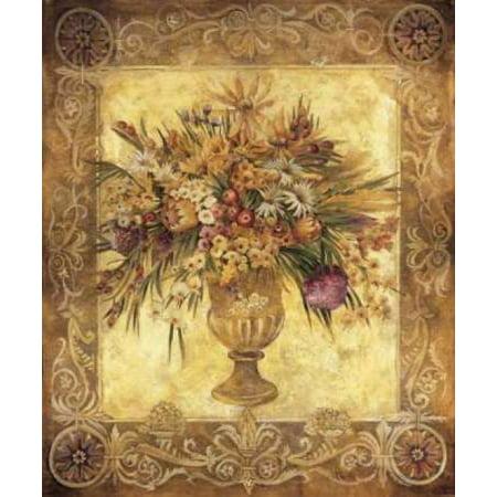 Tuscan Urn Poster Print by Liz Jardine (10 x 12)