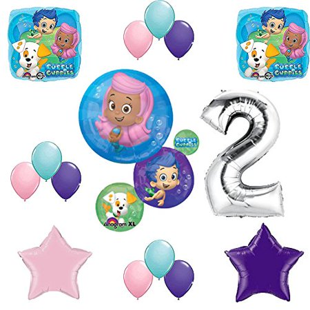 Bubble Guppies Birthday Party Balloon Decoration Kit (Bubble Guppies Party Invitations)