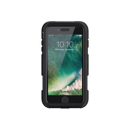 Griffin Survivor Extreme - Protective case for cell phone - rugged - silicone, polycarbonate, thermoplastic elastomer (TPE) - black/clear - for Apple iPhone 7 Plus