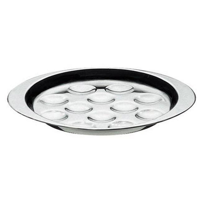 Paderno World Cuisine 41687-12 Escargot Dish  Stainless Steel