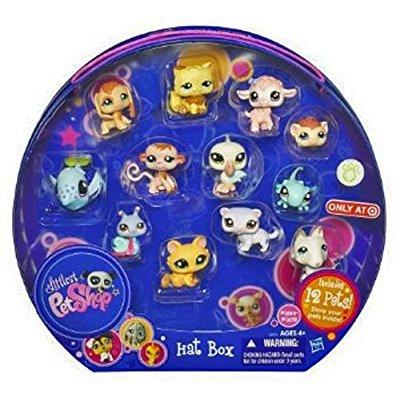 Hasbro littlest pet shop exclusive playset hat box includ...