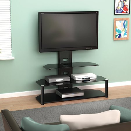 Z-Line Designs Lucia Television Stand With Mount, for TVs up to 55