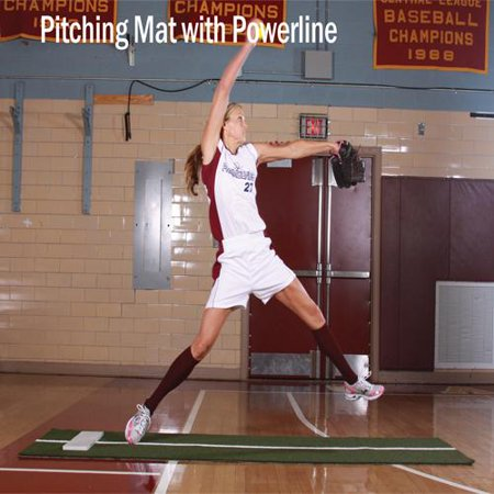 with softball pitching line s stride ebay mats p mat