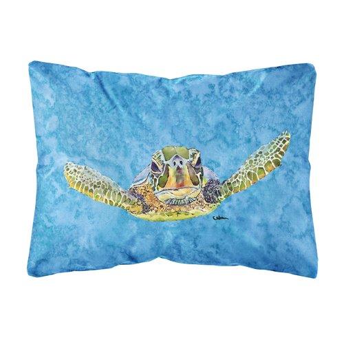 Zoomie Kids Koda Turtle Indoor/Outdoor Throw Pillow