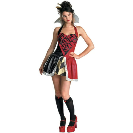 Alice in Wonderland Queen Of Hearts Teen Costume