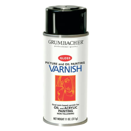 Grumbacher Picture Varnish, 12.75 oz., Gloss