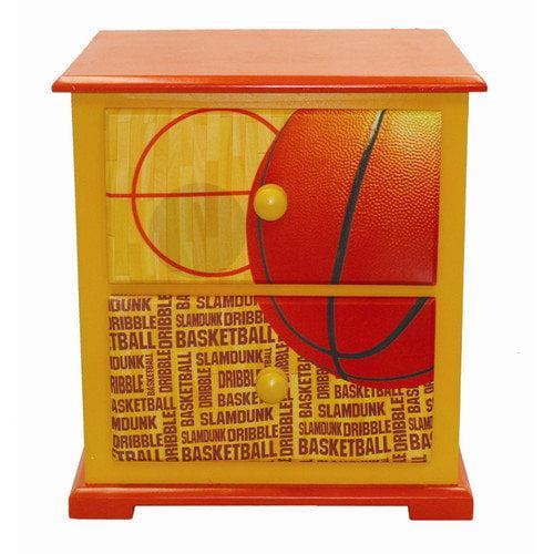 Komfy Kings Basketball Slam Dunk Nightstand