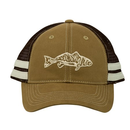 Flying Fisherman Red Fish Trucker Hat