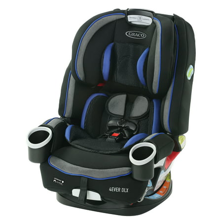Graco 4Ever DLX 4-in-1 Convertible Car Seat, Kendrick Blue