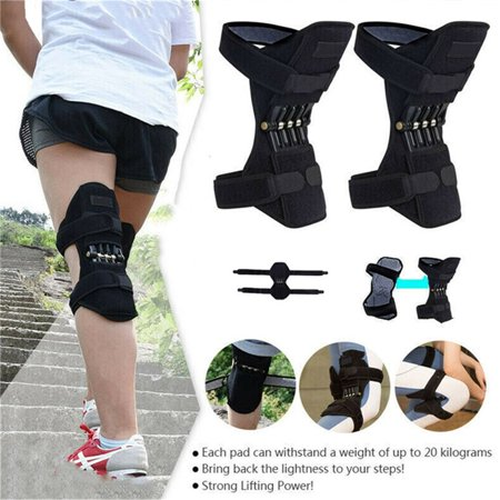 Joint Support Knee Pads, Knee Patella Strap, Power Lift Spring Force, Tendon Brace Band Pad for Arthritis Tendonitis Gym Sports Body Sport Patella Knee Support
