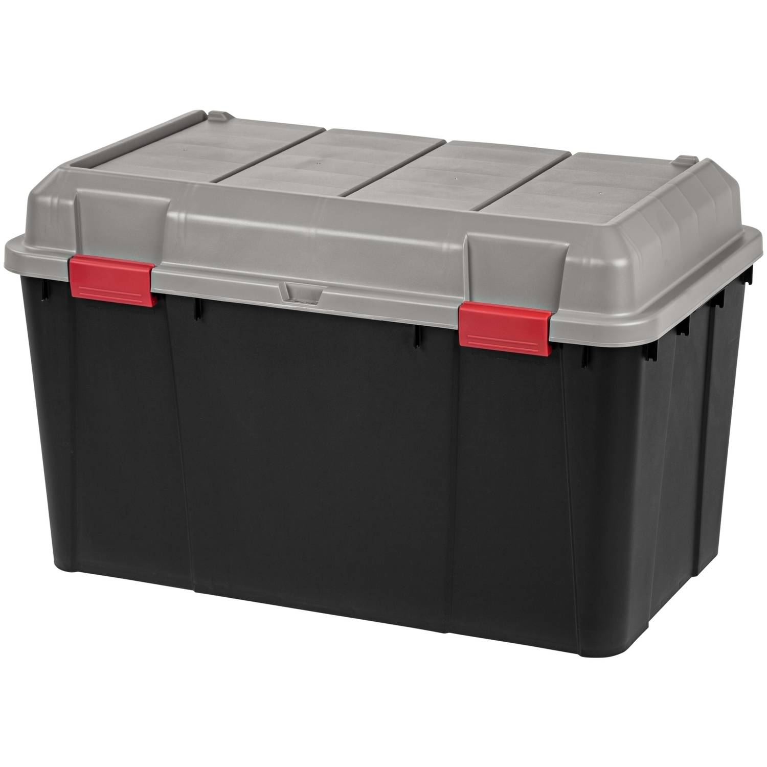 IRIS 138 Qt. Plastic Storage Trunk, Black